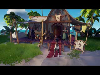 Official sea of thieves content update fort of the damned