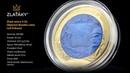 Zlatá mince 5 Oz Objevení Nového světa - Leif Eriksson 2020 Perleť Proof