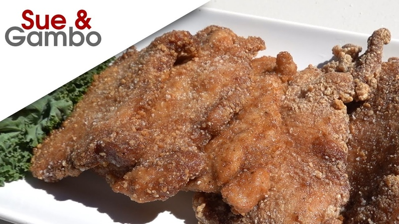 Chinese Style Fried Pork Chops Recipe