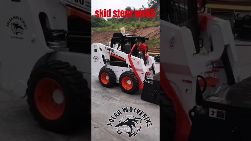 20200530 polar wolverine skid steer ws60 skid steer loader ws65 skid steer attachments sweeper
