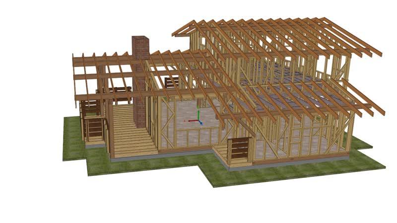 Каркасный дом 20.02601200