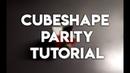Cubeshape Parity || CSP Tutorial (RUS)