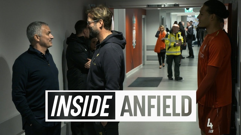 Inside Anfield Liverpool 3 1 Manchester United Shaqiri's double sends Reds top