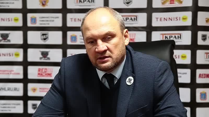 Пресс-коференция после матча Тамбов-Торос