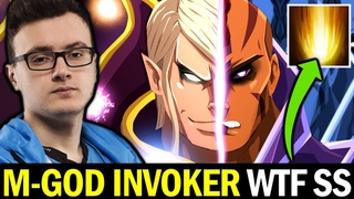 MIRACLE Invoker Crazy Sunstrike — vs SKITER Antimage 2 Games in a Row