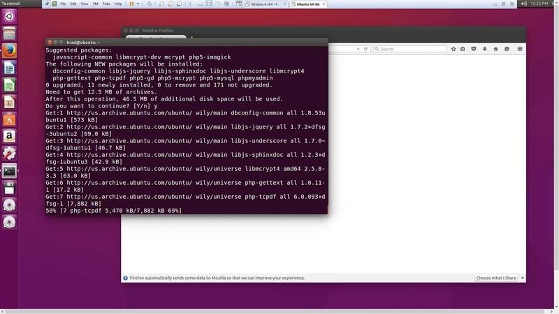 Install LAMP Stack Linux Apache MySQL PHP in Ubuntu 15 10
