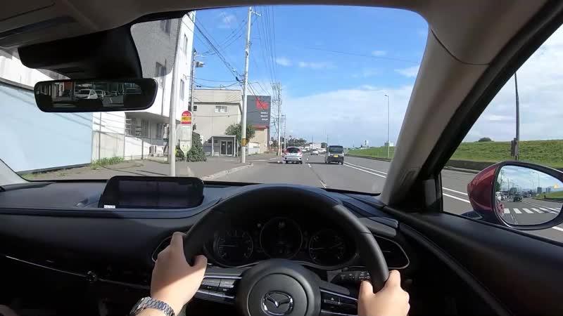 【Test Drive】2019 New MAZDA CX-30 2.0L SKYACTIV-G(Gasokine) AWD - POV Drive