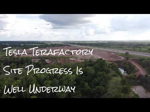 Tesla Terafactory Construction Is Well Underway