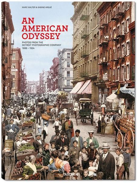 Американская Одиссея - самые первые цветные фотографии США «Американская Одиссея» (An American Odyssey) - 612-страничная книга, опубликованная издательством Taschen, в которую вошли редкие