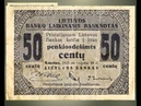 Provisional banknotes of the 10th of September 1922 issue (EN)