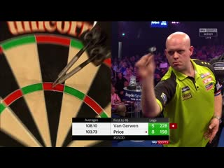 Michael van Gerwen vs Gerwyn Price (Grand Slam of Darts 2019 / Semi Final)