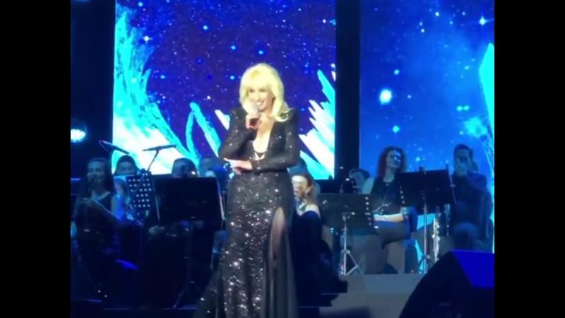 Ирина Аллегрова на творческом вечере Игоря Крутого Dubai, Jumeirah Beach Hotel