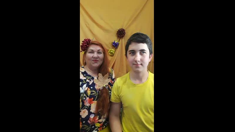 КонкурсРоссияЭтоМы ЛИСТЬЯ ЖЕЛТЫЕ Георгий и Татьяна Бурмагины