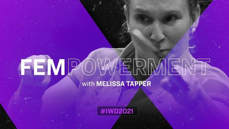 Melissa Tapper Inspirational Women in Table Tennis