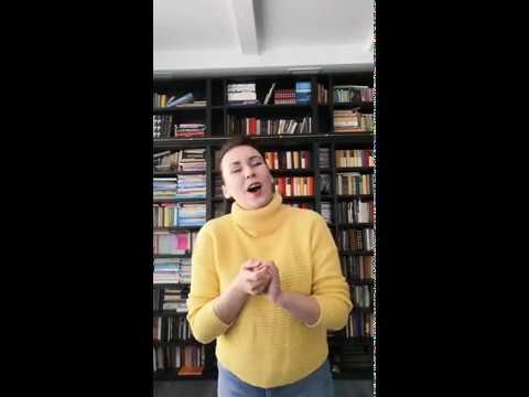 Алина Отяковская - Редеет облаков летучая гряда (муз. Н.А. Римский-Корсаков, сл. А.С. Пушкина)