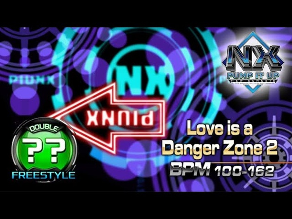 PUMP IT UP NX Love Is A Danger Zone 2 Full Song DP20 Hidden Freestyle Chart Comparison ✔