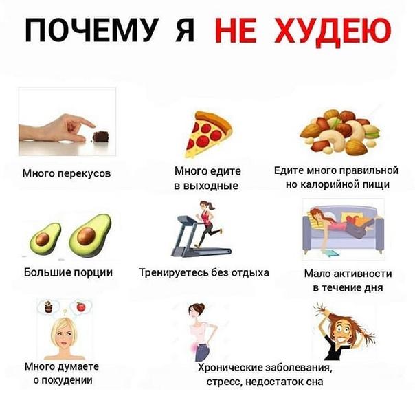 Зачем Мне Надо Похудеть. 40 причин похудеть