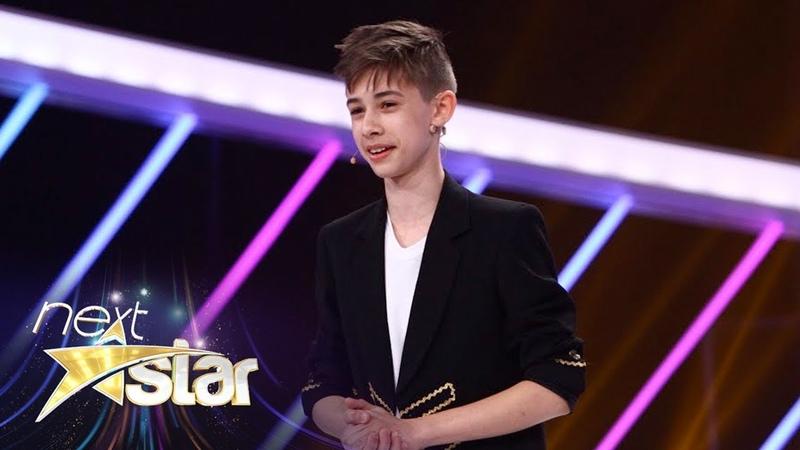 Ștefan Luncanu număr impresionant de magie pe scena Next Star