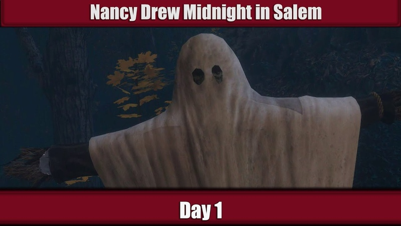 Nancy Drew Midnight in Salem Walkthrough - Part1: The first day of the witch-hunt