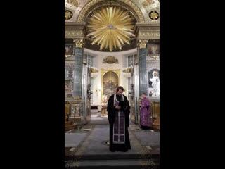 Проповедь митрополита Варсонофия после всенощного бдения