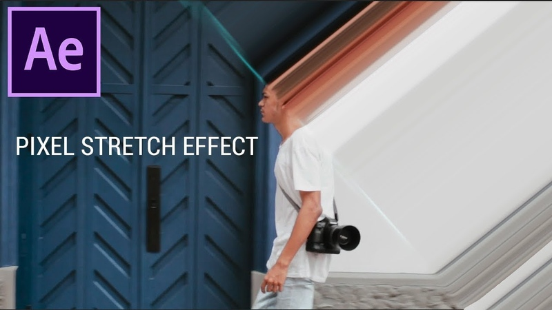 How to create a Pixel Stretch Effect in Adobe After Effects CC (Tutorial)