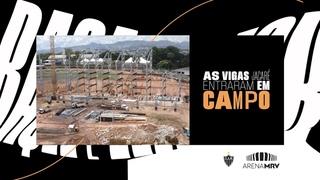 13/03/2021 - Vigas jacaré em campo e o terrão tomando forma!
