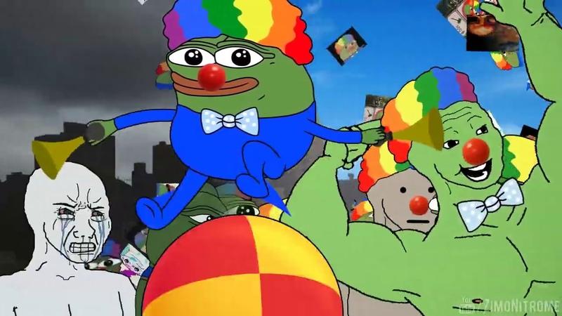 Clown Pepe ▶ Honk Honk ▶ Clown World ▶ Pepe The Frog ▶ Meme » Freewka.com - Смотреть онлайн в хорощем качестве