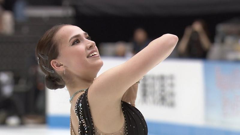 Алина Загитова Japan Open 2019