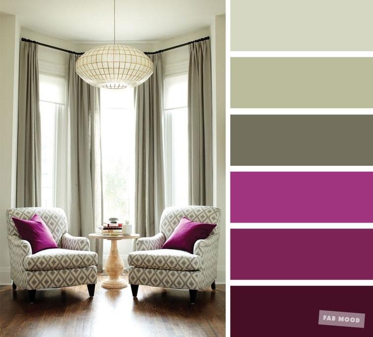 Цветовые сочетания, которые пригодятся вам при обустройстве интерьера