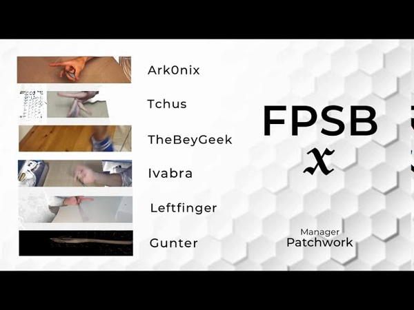 PENSPINNING Best of Team X FPSB The Champion Pen Spinning World Cup 2020
