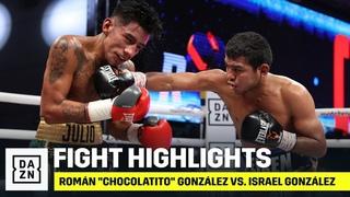 """HIGHLIGHTS   Román """"Chocolatito"""" González vs  Israel González"""
