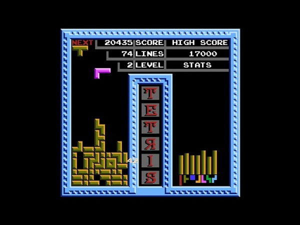 Tetris (1988) [NES / Famicom / Dendy] Tengen version