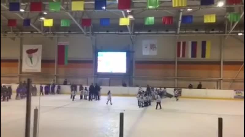 Гимн Российской Федерации в честь победителя Международного турнира