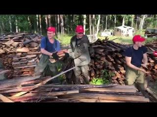 Участники Молодежки ОНФ помогают в наиболее удаленных районах Иркутской области.