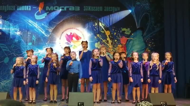 Яблоневый вечер Ансамбль МОСГАЗ зажигает звезды г Москва