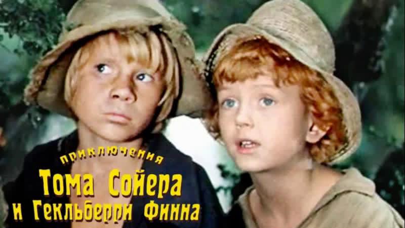 🎬 ПРИКЛЮЧЕНИЯ ТОМА СОЙЕРА И ГЕКЛЬБЕРРИ ФИННА (1981) ✅ Детский, приключения