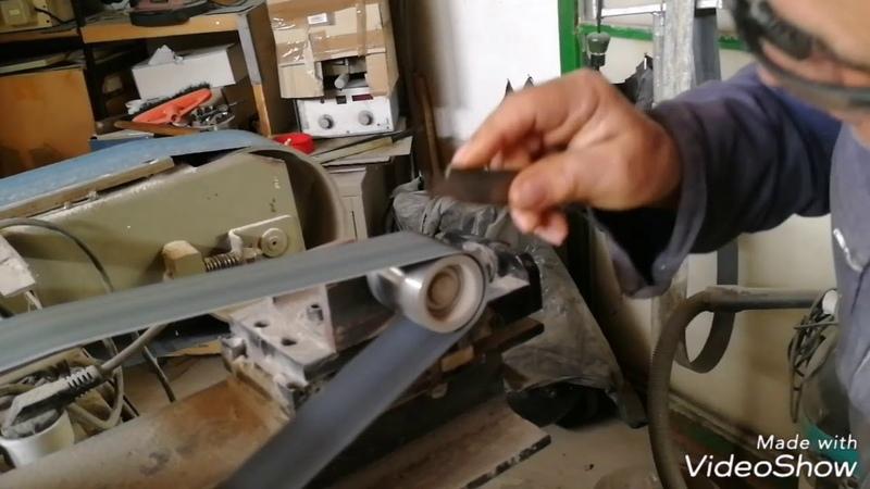 Costruzione artigianale di un coltello sardo