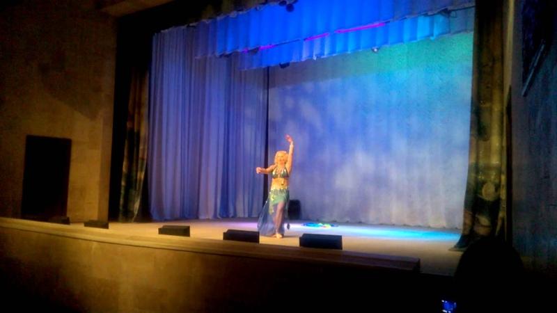 Bellydancer Irina ignatova. Mejanse Helwa ya Irina (Gala-show,Russia, april 2015)