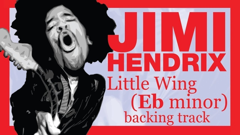 JIMI HENDRIX - Little Wing in Ebm (14 minutes backing track)
