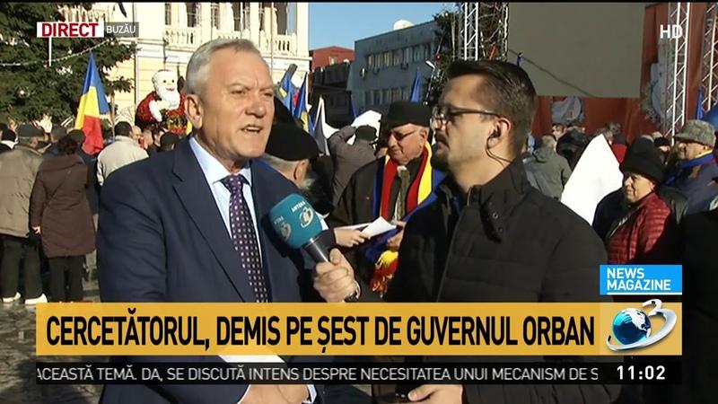 Protest în centrul Buzăului! Sute de persoane au ieșit în stradă pentru susținerea cercetător
