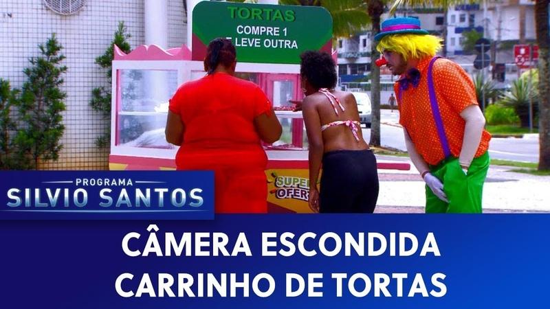 Palhaço dá Tortada - Carrinho de tortas | Câmeras Escondidas (15/03/20)