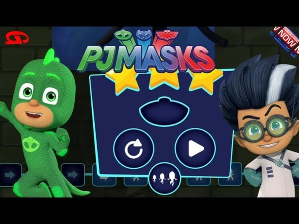 PJ Masks Academy of Heroes - Training of Heroes (Disney Jr Games)