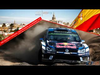 Wrc rally de espana, super stage, [545tv, a21 network]