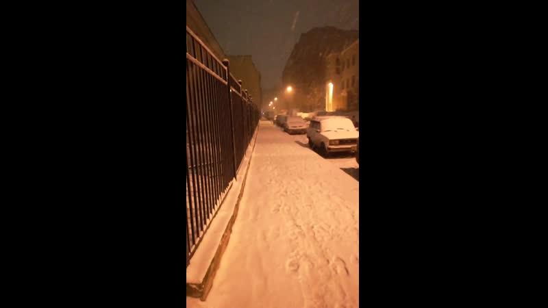 Зима в Питере 2019 г