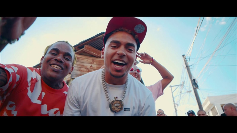 OZUNA ft El Cherry Scom y Kiko El Crazy Baje con trenza Remix Video Oficial