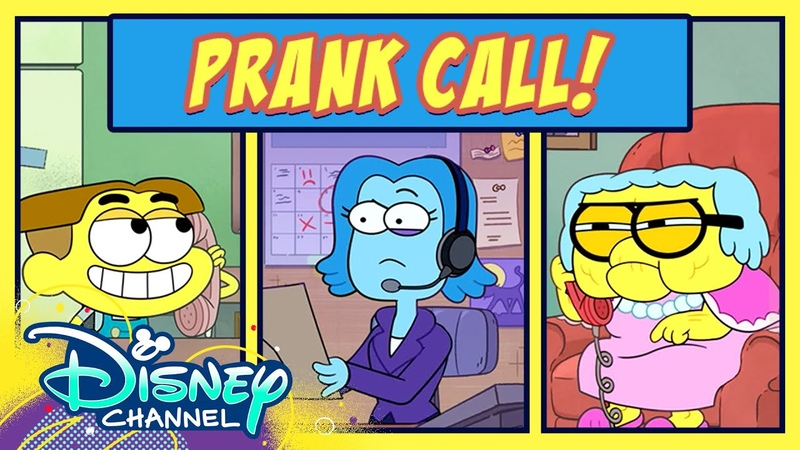Tilly and Cricket are Super Heroes 💥 Prank Call Big City Greens Disney Channel