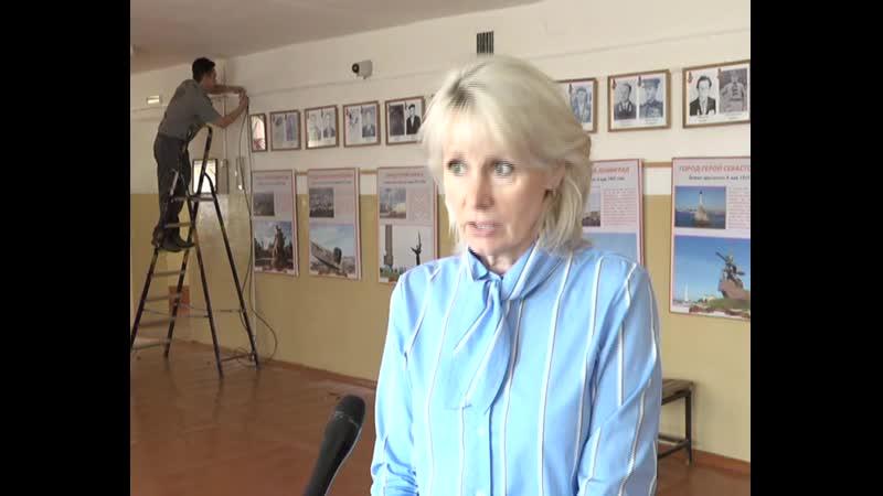 Камеры в Чулковской школе