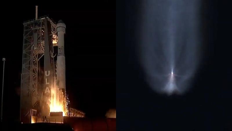 Atlas V launches Starliner