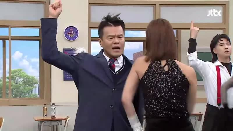 J Y Park 박진영 FEVER Feat SuperBee 수퍼비 BIBI SHOW Knowing Bros Ep 207