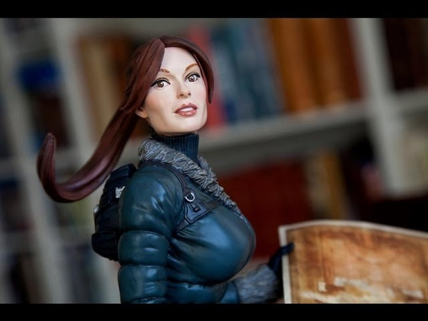 Review Lara Croft Snow Day Exclusive Statue Sideshow Collectibles